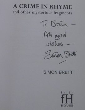 A Crime in Rhyme – Simon Brett